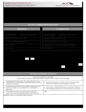 bank of america rma form 2013
