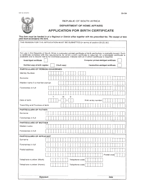 Bi 154 birth certificate fill online printable fillable blank dha 154 form yadclub Gallery