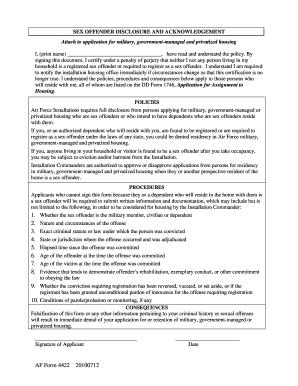 Af Form 4422 - Fill Online, Printable, Fillable, Blank | PDFfiller