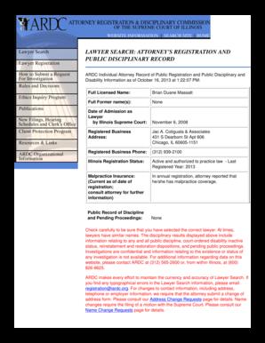 Registration Department Main Menu