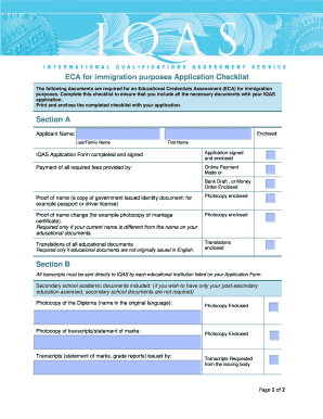 Iqas checklist - Research paper Sample - Academic Writing