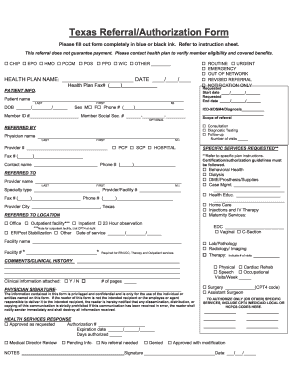 Driscoll Childrens Health Plan Appeal Form - Fill Online ...
