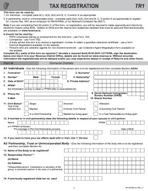 Tr1 Form - Fill Online, Printable, Fillable, Blank | PDFfiller