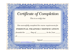hipaa training certificate template - training certificate forms and templates fillable