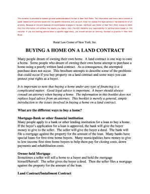 Home buying contract???