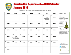 Hfd Shift Calendar February 2018 Fill Online Printable Fillable