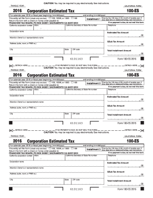 2016 Es Estimated - Fill Online, Printable, Fillable, Blank ...