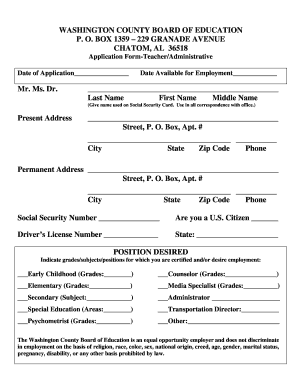 Washington License Number Lookup