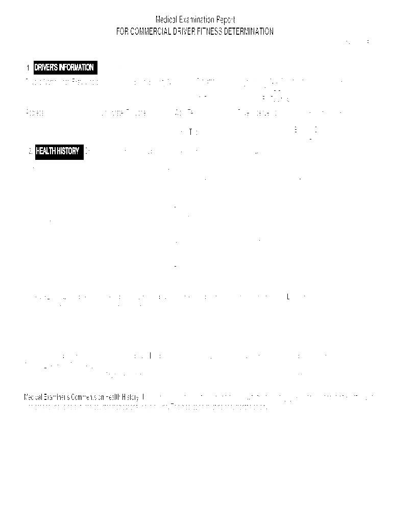 Dot Physical Form Fill Online Printable Fillable Blank