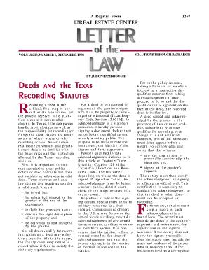 Collin County Texas Property Deeds