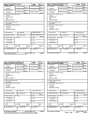 W2 2015 Printable - Fill Online, Printable, Fillable ...