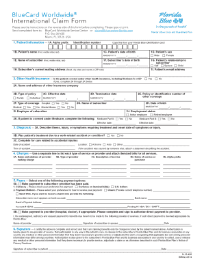 insurance claim address bcbs - Edit, Fill Out, Print & Download ...