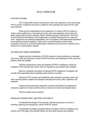 hvac engineer resume