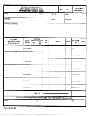 printable fema form 009 0 4 forms and document blanks to submit online volunteer liability. Black Bedroom Furniture Sets. Home Design Ideas