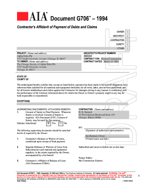 Form G706 On Line For Free - Fill Online, Printable, Fillable ...