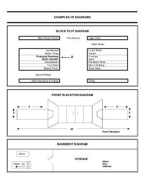block plot diagrampdffillercom fill online printable. Black Bedroom Furniture Sets. Home Design Ideas