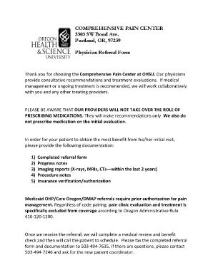 Fillable Online ohsu Medicaid OHPCare OregonDMAP referrals require ...