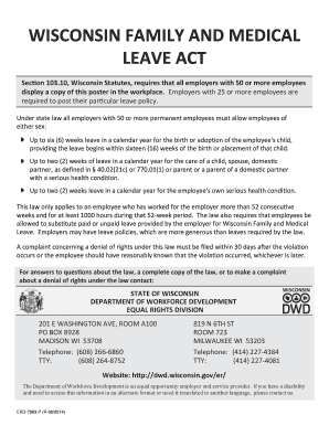 family medical and leave act effect research papers March 3, 1994 memorandum from: robert garstka, director of human resources re: family and medical leave act effective on february 5, 1994, the federal family and medical leave act (fmla) became applicable to the members of all collective bargaining units at the university.
