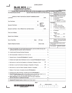 2015-2017 Form PA DoR PA-40 Fill Online, Printable, Fillable ...