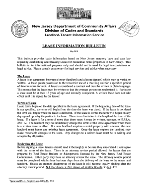 Residential Lease Agreement Doc Forms And Templates