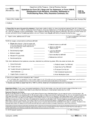 Fillable Online famguardian Substitute for Form W-2, Wage and Tax ...