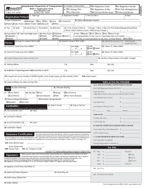 Mass Rmv Form Rmv 1instructions - Fill Online, Printable, Fillable ...