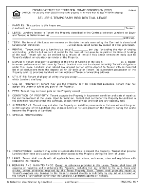 Temporary Lease Agreement Template Forms Fillable
