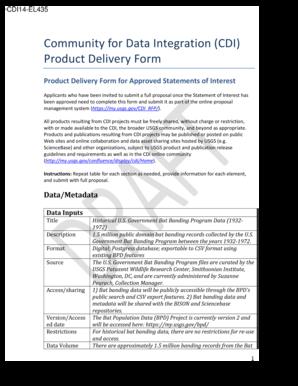 Fillable Online Ellison FY14 CDI RFP Product Delivery Form-spdf Fax