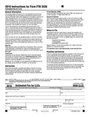 2016 Form 3536 - Fill Online, Printable, Fillable, Blank   PDFfiller