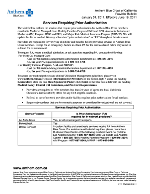 Anthem Dme Prior Auth Fillable Form - Fill Online, Printable