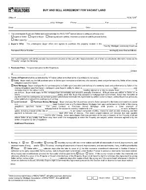 land contract form Sc Memorandum Of Land Contract Form - Fill Online, Printable ...