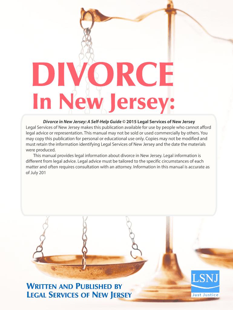 Nj Divorce Forms Pdf Fill Online Printable Fillable Blank Pdffiller