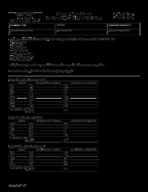 Fillable Online oregon 2015 Schedule OR-ASC-N/P, Oregon ...