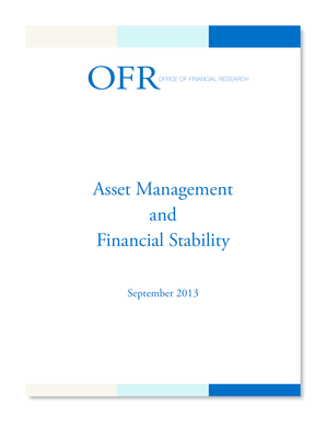 OFFICE OF FINANCIAL RESEARCH - treasury
