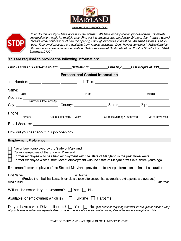 maryland drivers license renewal form