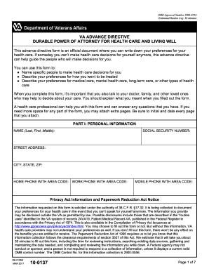 power of attorney form va  10 Form VA 10-10 Fill Online, Printable, Fillable, Blank ...