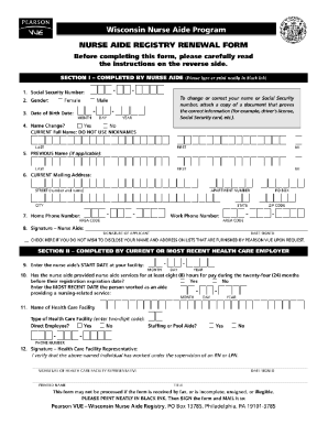 Sc Cna Renewal Form - Fill Online, Printable, Fillable