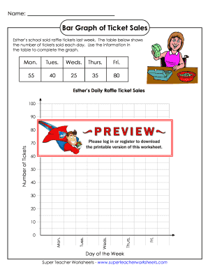Worksheets Online Printable Bar Graph blank bar graph form fill online printable fillable related content super teacher worksheets graphs of how many takes sold