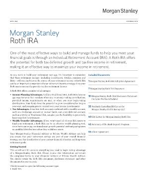 Morgan Stanley Roth Ira Distribution Form Fill Online