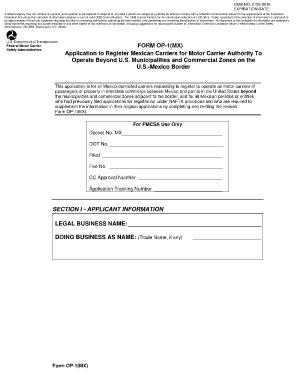 Dot Boc 3 - Fill Online, Printable, Fillable, Blank | PDFfiller