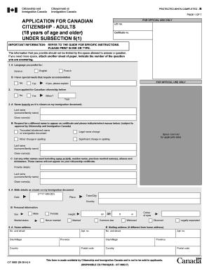 2015-2017 Form Canada CIT 0002E Fill Online, Printable, Fillable ...