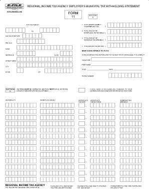 Rita Form 11 - Fill Online, Printable, Fillable, Blank | PDFfiller