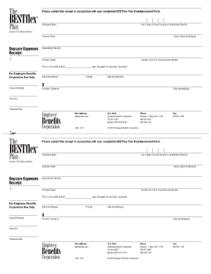 Annual Daycare Receipts Without Tax Id - Fill Online, Printable ...