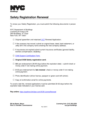 registration form for renewal of safety New or additional registration: do not use your web browser buttons (back, forward,  federal motor carrier safety administration 1200 new jersey avenue se.