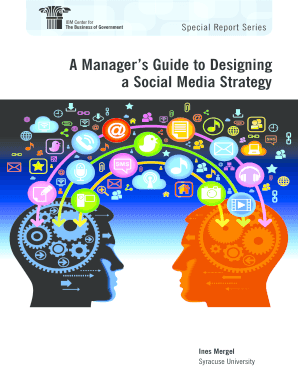 A Managers Guide to Designing a Social Media Strategy - ohioauditor