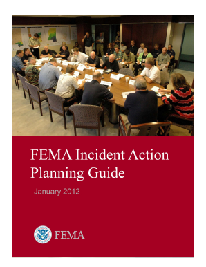 Fema Fillable Incident Action Plan Forms