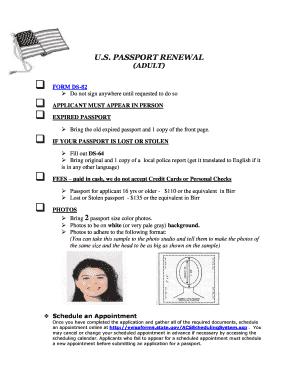 USA PASSPORT PSD TEMPLATE | Passport template, United