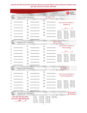 Acls manual code user guide manual that easy to read acls pre test fill online printable fillable blank pdffiller rh pdffiller com acls 2015 manual code acls provider manual code fandeluxe Image collections