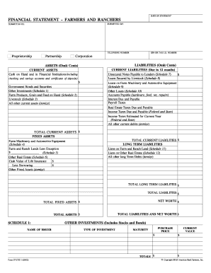 Income Statement - 12 Months Forms and Templates - Fillable ...