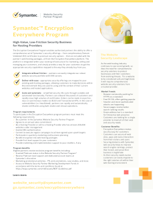 16920 Symantec Encryption everywhere Flyer